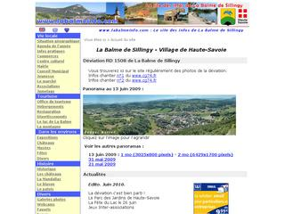 Thumbnail do site Site officiel de La Balme de <b>Sillingy</b>