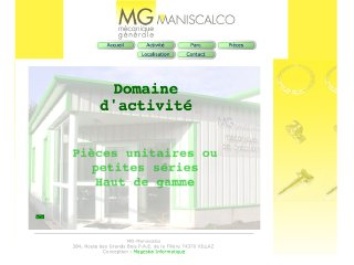 Thumbnail do site MG Maniscalco