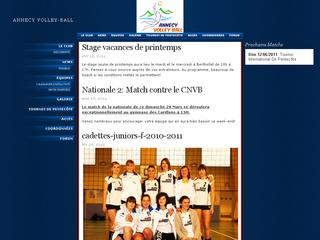 Thumbnail do site Annecy Volley-Ball