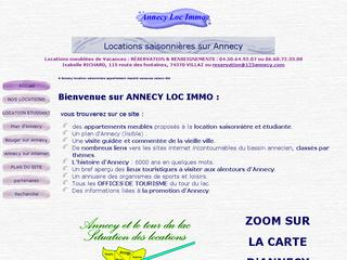 Thumbnail do site Annecy Loc Immo