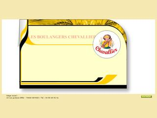 Thumbnail do site Boulangeries CHEVALLIER