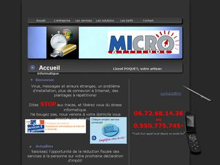 Thumbnail do site Micro Attitude - Assistance informatique à domicile