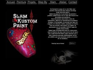 Thumbnail do site Slam Custom Paint