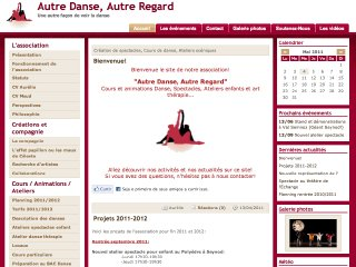 Thumbnail do site Autre Danse, Autre Regard