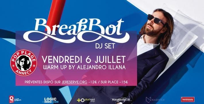 Pop Plage - 30 Avenue d'Albigny - 74000 Annecy, Vendredi 6 juillet 2018