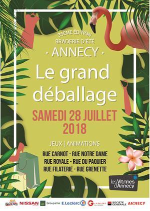Rues piétonnes - Centre-ville, 74000 Annecy , Samedi 28 juillet 2018