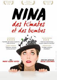 affiche 'Nina des Tomates et des Bombes'