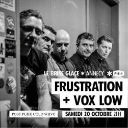 affiche Frustration + Vox Low