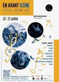 affiche Festival 'En Avant-Scène'