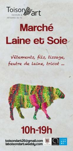 affiche Marché Laine et Soie