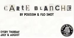 affiche Carte Blanche By Poussin & Flo Shot