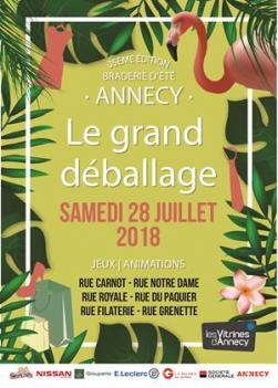 affiche Le Grand Déballage 2018