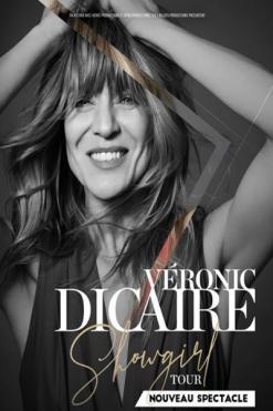 affiche Veronic Dicaire 'Showgirl Tour'