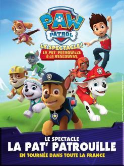 affiche La Pat' Patrouille - Le Spectacle