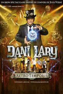 affiche Danny Lary 'Retro Temporis'