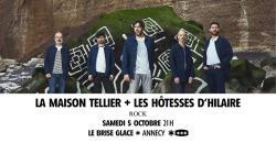 affiche La Maison Tellier + Les Hôtesses d'Hilaire