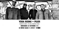 affiche Yoda Rising + Pilier