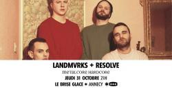 affiche Landmvrks + Resolve