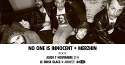affiche No One Is Innocent + Merzhin