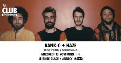 affiche Rank-o + Haze