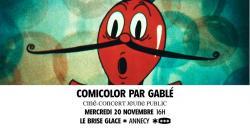 affiche Comicolor par GaBLé