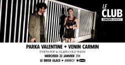 affiche Parka Valentine + Venin Carmin
