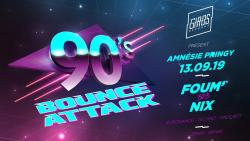 affiche Foum' & Nix (Techno, Eurodance, Only 90s)