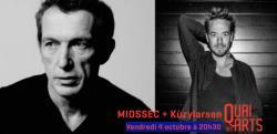 affiche Miossec + Kùzylarsen
