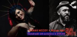 affiche Sarah McCoy + Mister Mat