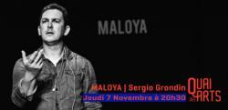 affiche Maloya - Sergio Grondin, Cie Karanbolaz
