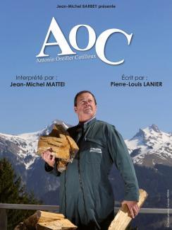 affiche Jean-Michel Mattei 'AOC'