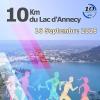 affiche 10 km du Lac d'Annecy 2018