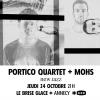 affiche Portico Quartet + Mohs