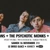 affiche MNNQNS + The Psychotic Monks + Korto