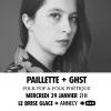 affiche Paillette + GHST