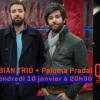 affiche Dan Gharibian Trio + Paloma Pradal