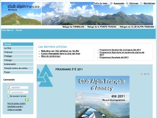 thumb Club Alpin Français d'Annecy