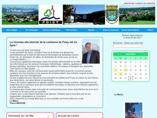 thumb Site officiel de la Mairie de Poisy