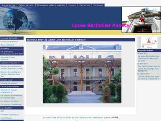 thumb Lycée Berthollet