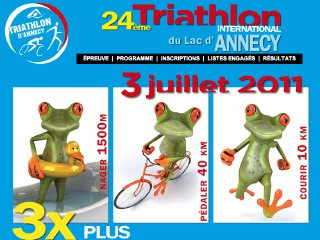 thumb Triathlon International du Lac d'Annecy