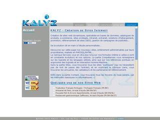 thumb KALYZ - création de sites internet