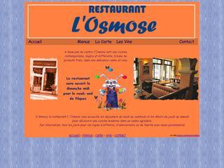 thumb L'Osmose à Annecy, une cuisine contemporaine