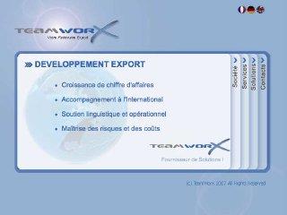 thumb TeamWorX - Aide au développement Export