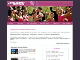 thumb AnimaFêtes - Animation de mariages et de soirées